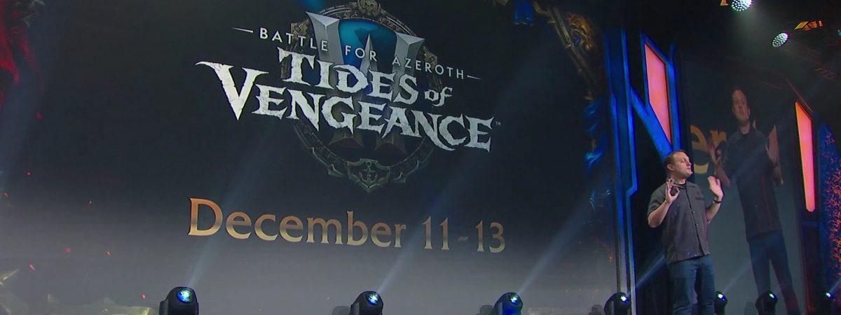 World of Warcraft patch 8.1 arrives in December.