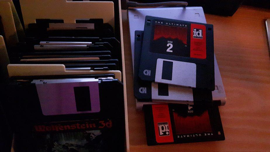 Doom Floppy Disks