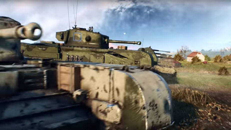 Battlefield 5 Panzerstorm Map Features Tank Combat