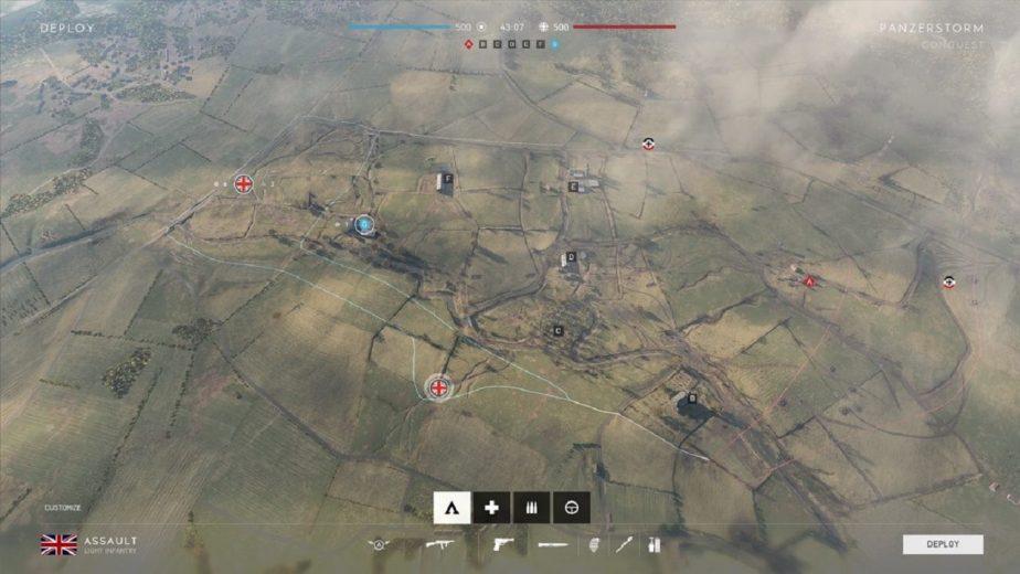 Battlefield 5 Panzerstorm Map Layout