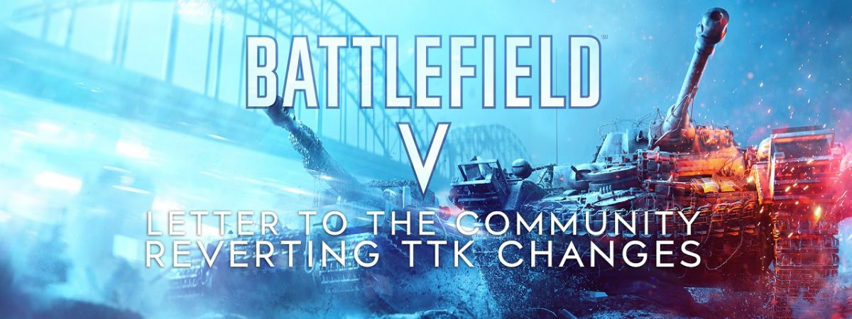 DICE Reverts Battlefield 5 TTK Changes