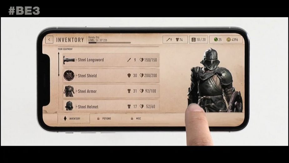 Elder Scrolls Blades Delayed to Early 2019