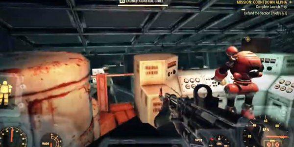 launch code fallout 76 alpha