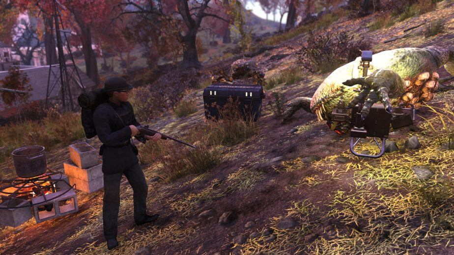 Fallout 76 Patch Adds Tool to CAMPs