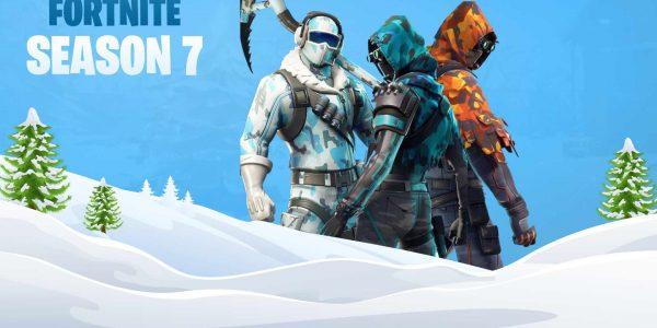 'Tis the season for snow in Fortnite.