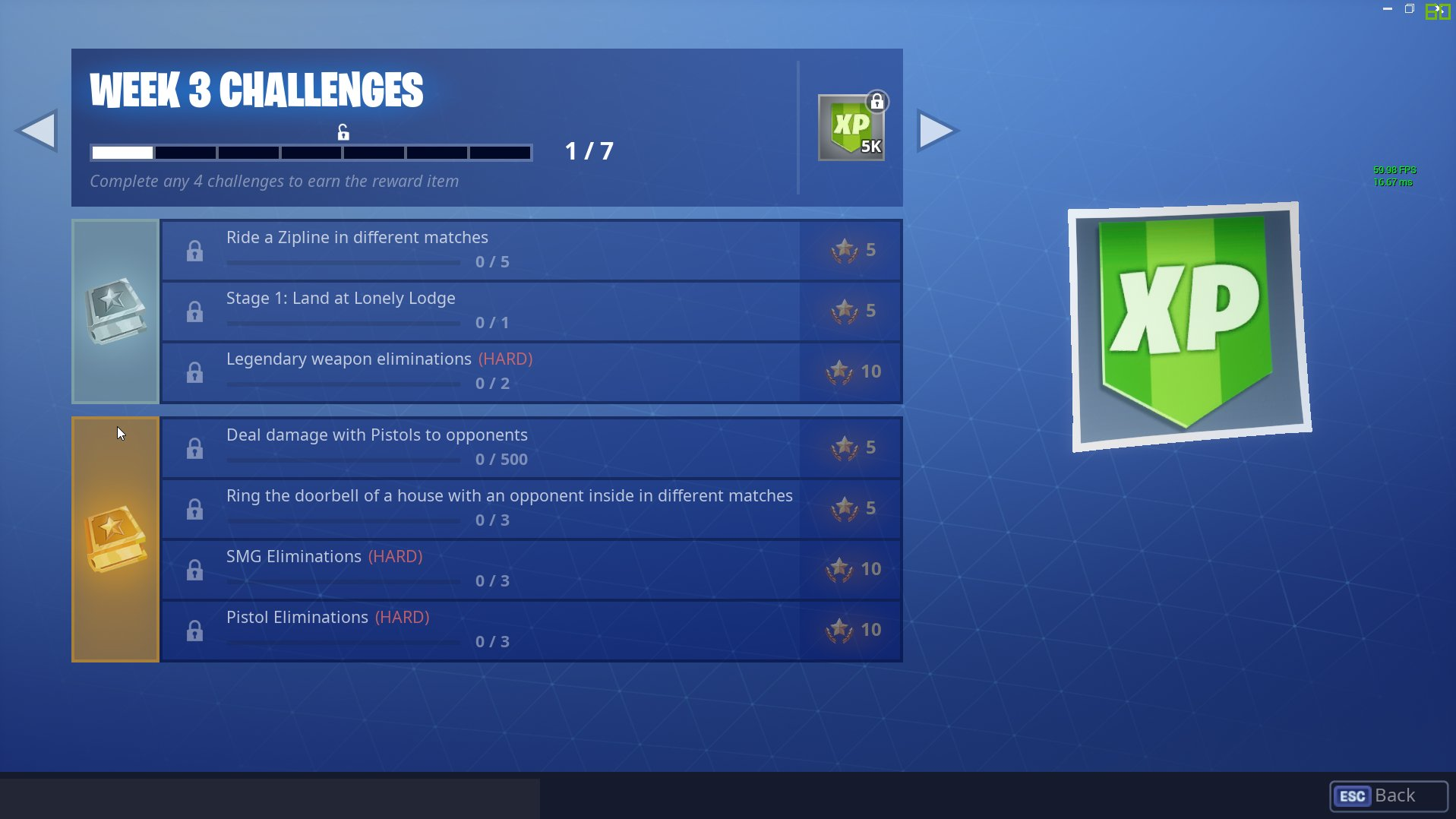 Check out the Fortnite Season 7 Week 3 Challenges.