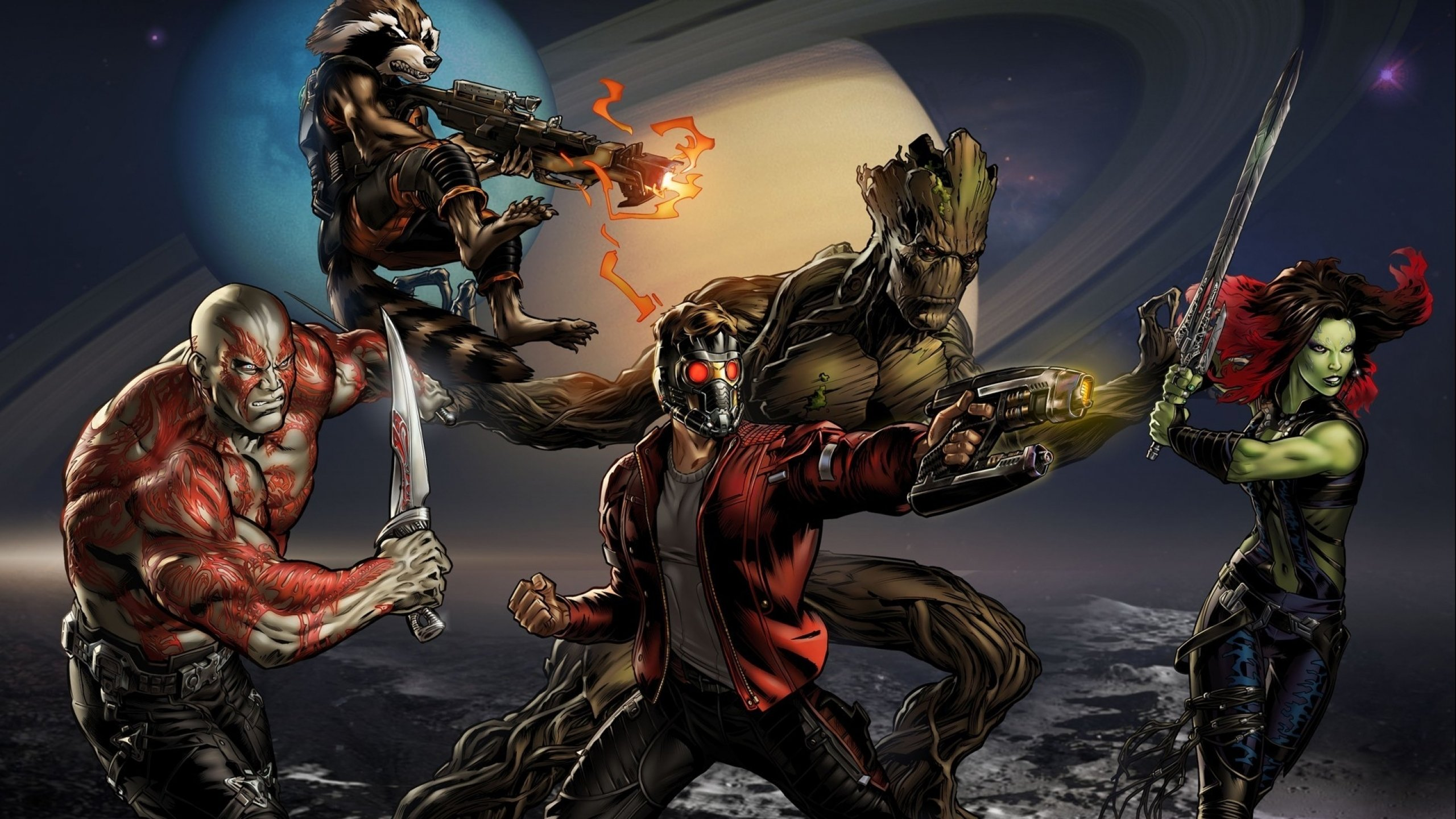 The Guardians of The Galaxy Will Take On Thanos Once Again