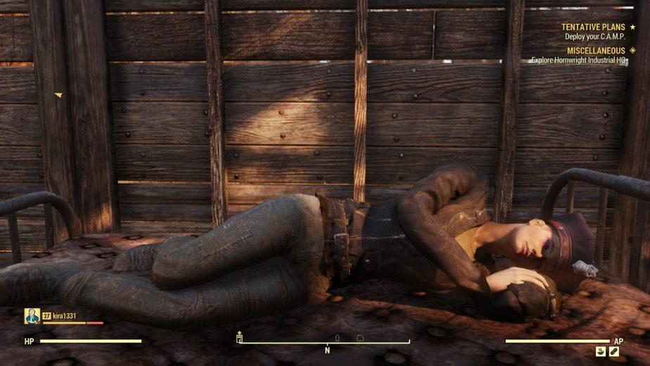 Fallout 76 Sleep