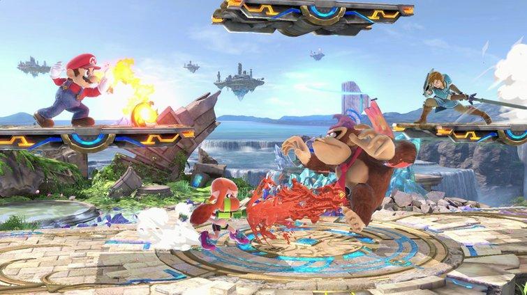 Super Smash Bros Ultimate update