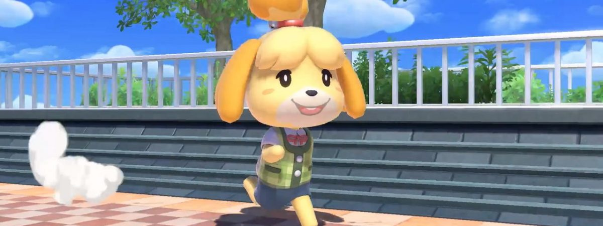 Super Smash Bros Ultimate Isabelle