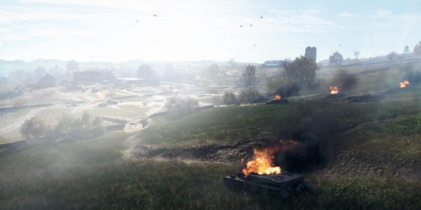 The Battlefield 5 Panzerstorm Map Emphasises Vehicles