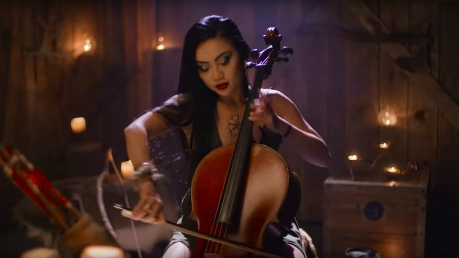 Tina Guo in Her Recent God of War Music Video 2