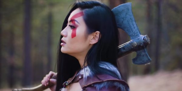Tina Guo in Her Recent God of War Music Video