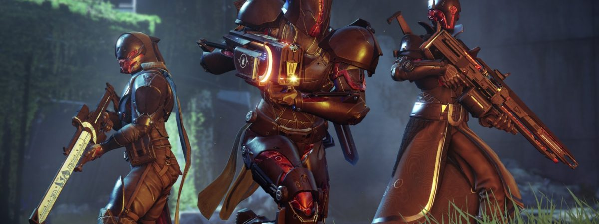 Destiny 2 Black Armory weapons trailer post.