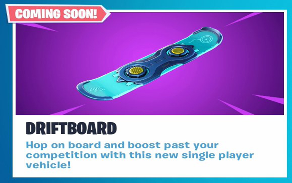 Fortnite Update V7 10 Delayed Will Release Without Driftboard