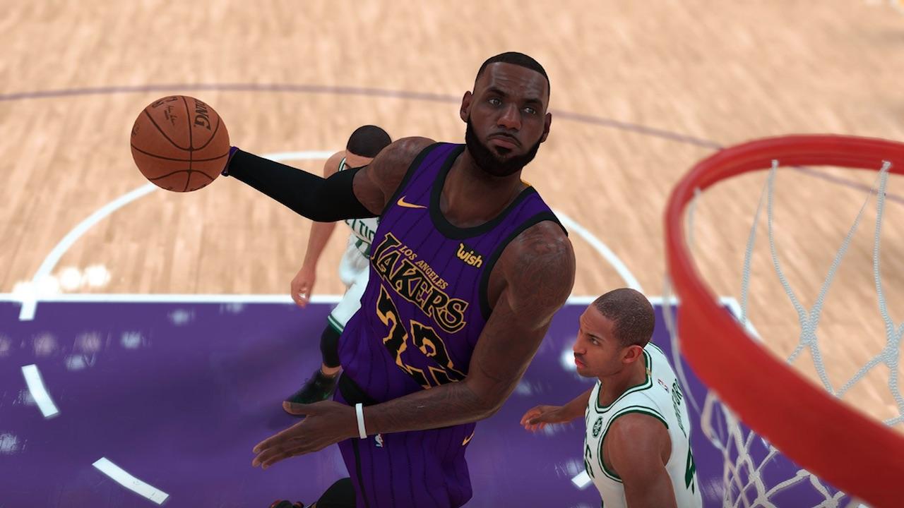 NBA 2K19 Patch 7 Updates LeBron James