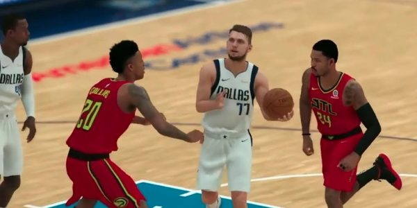 7bfd6a95f8ae NBA 2K19 Player Ratings Update  Rookie Luka Doncic Rises