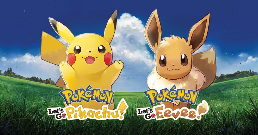 Pokémon Let's Go Pikachu - Eevee