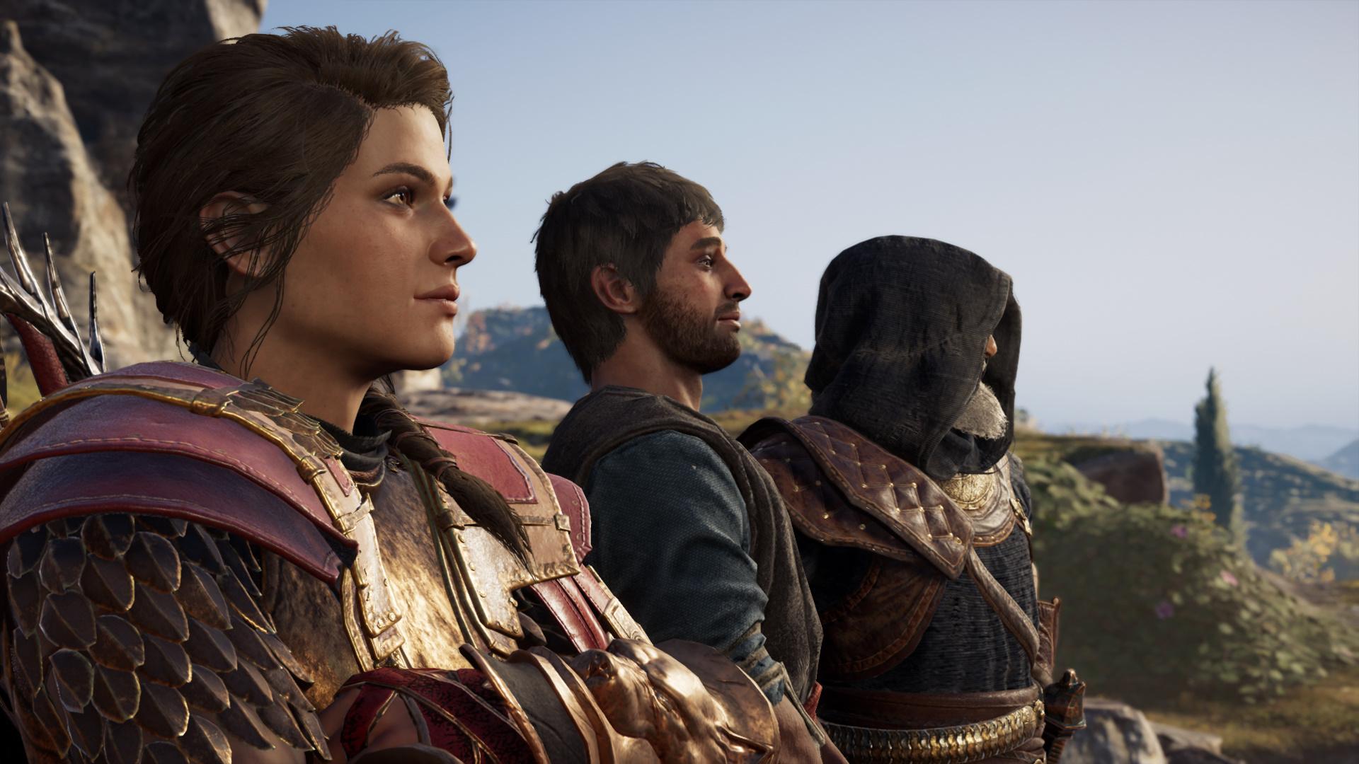 Kassandra Stands With Natakas And Darius
