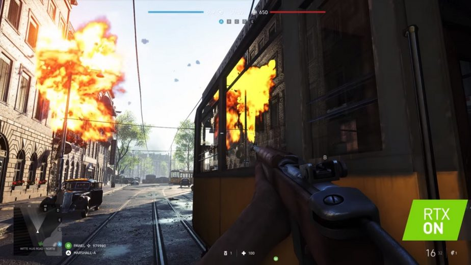 Battlefield 5 Ray Tracing CES Demo 2