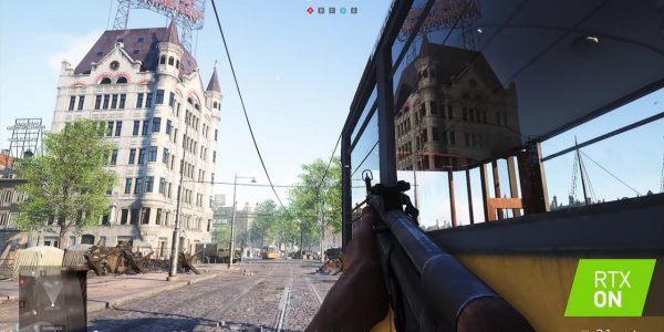 Battlefield 5 Ray Tracing CES Demo