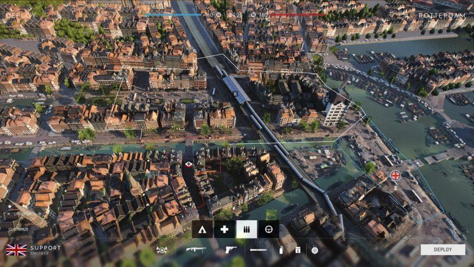 DICE Details Battlefield 5 Squad Conquest Rotterdam Map Variant
