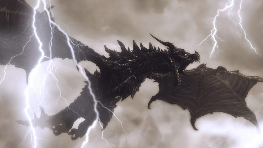 Elder Scrolls 6 Dragons Alduin