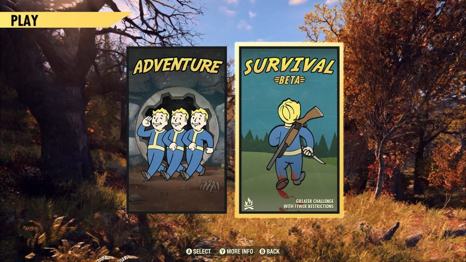 Fallout 76 PvP Survival Mode Will Launch in Beta