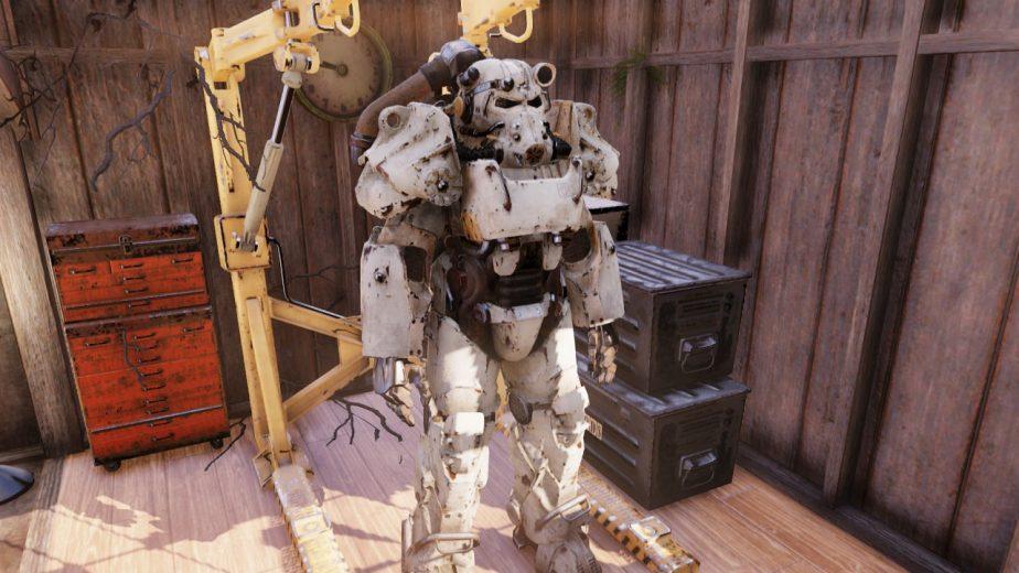Fallout 76 Secrets Include Power Armour Paints