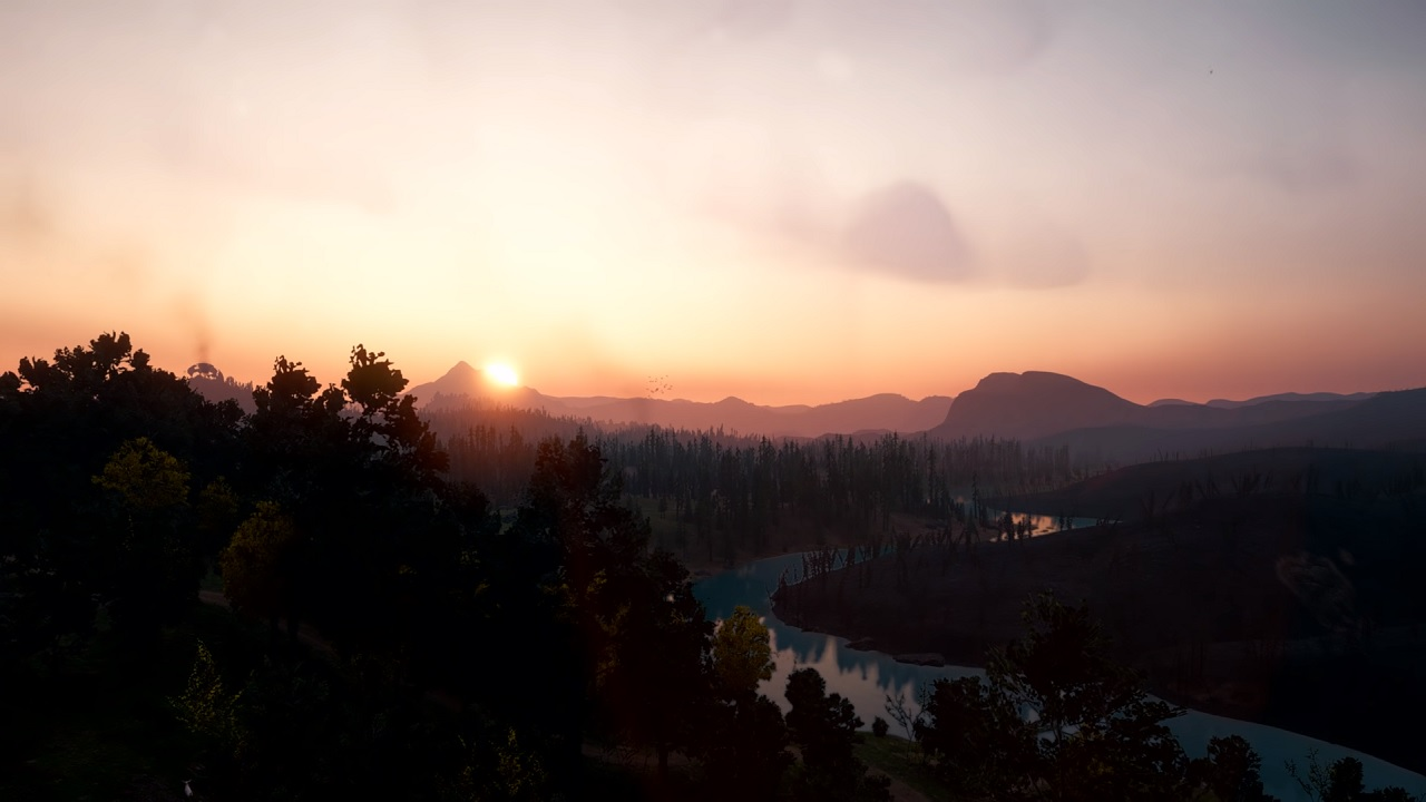 Far Cry New Dawn S World Map Is A Very Different Hope County