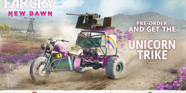 Far Cry New Dawn Preorder Bonus Unicorn Trike