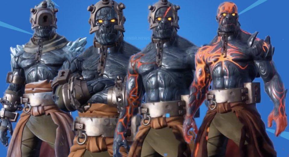Fortnite's Snowfall skin has finally been leaked.