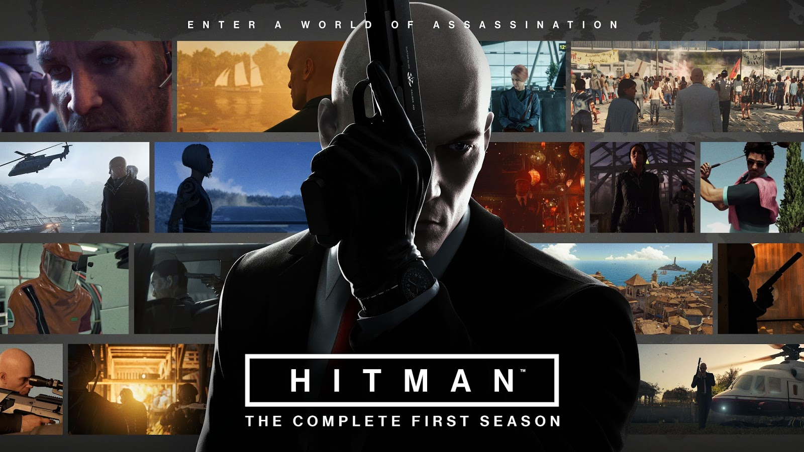 PS Plus subscribers in February 2019 can enjoy playing Hitman The Complete First Season for free