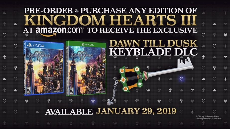 Kingdom Hearts 3 Dawn Till Dusk Keyblade