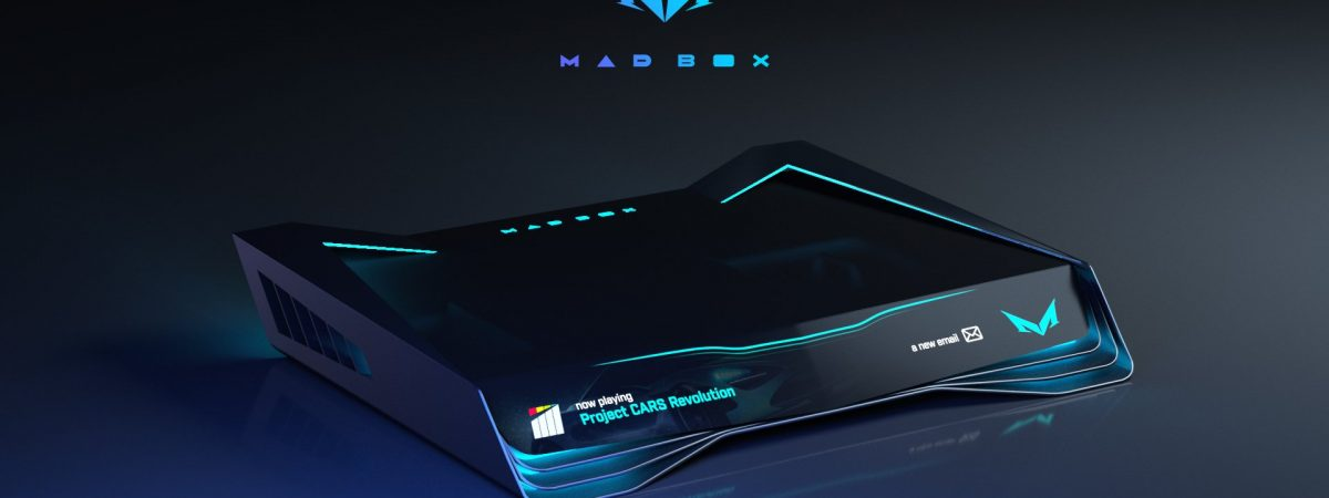 The Design of the Mad Box has changed. It looks much better now!