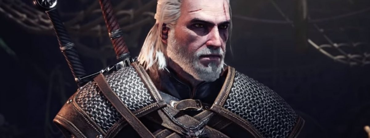 Monster Hunter World Witcher Crossover Features Geralt of Rivia