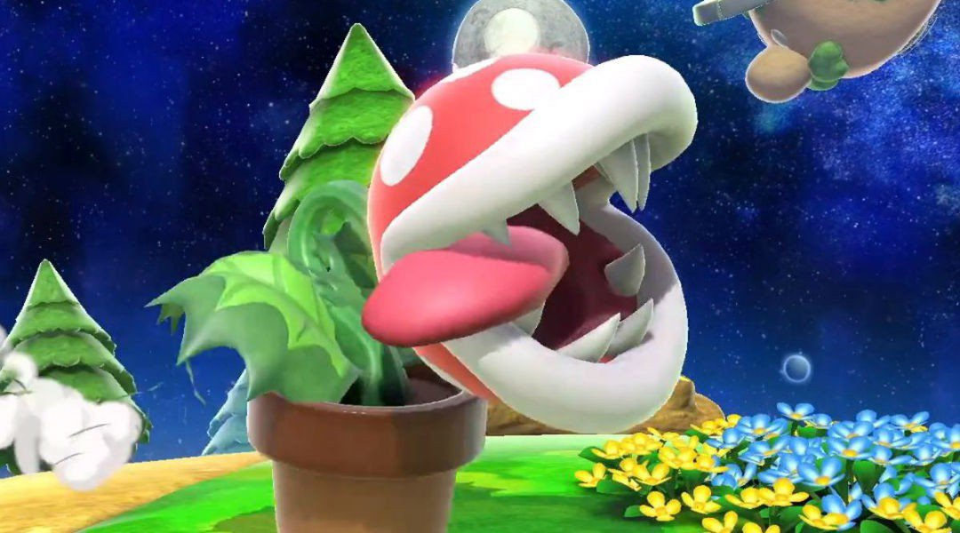 Piranha Plant has manage to break Smash Ultimate's Save Files!