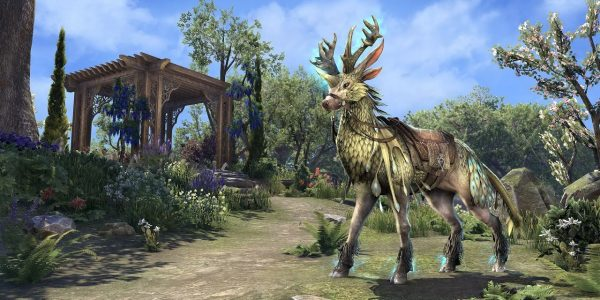 The Nascent Indrik Mount Can be Upgraded Into a Dawnwood Indrik