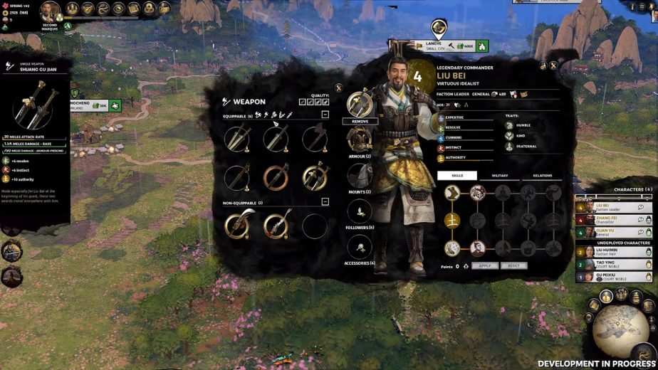 Three Kingdoms Heroes Detailed in New Let's Play