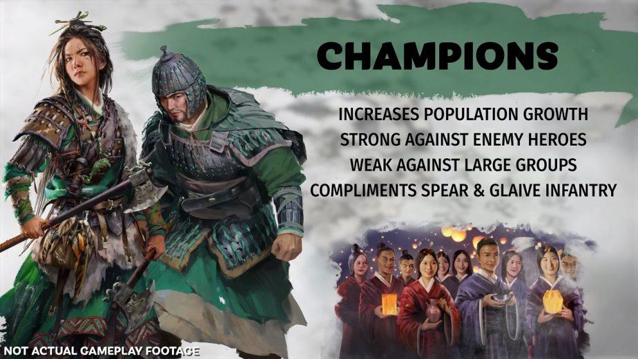 Total War Three Kingdoms Champion Page