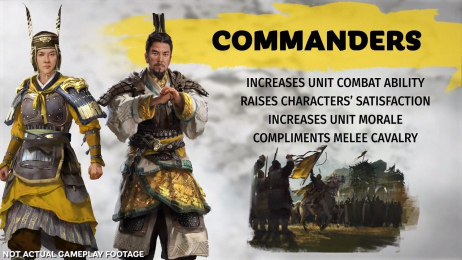 Total War Three Kingdoms Commander Page