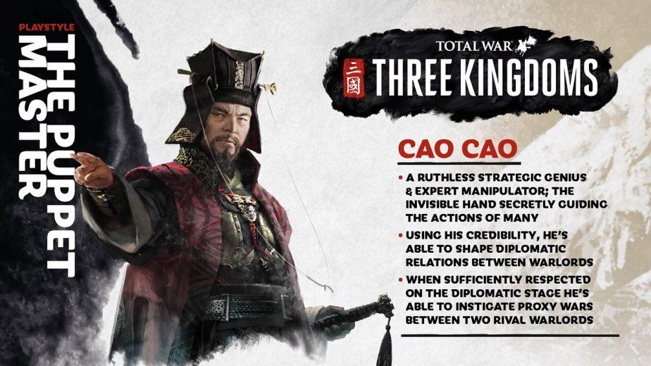 Total War Three Kingdoms Heroes Cao Cao