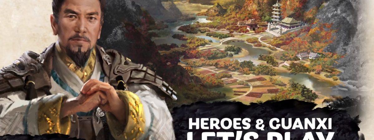 Total War Three Kingdoms Heroes Let's Play