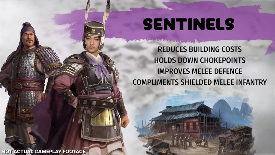 Total War Three Kingdoms Sentinel Page