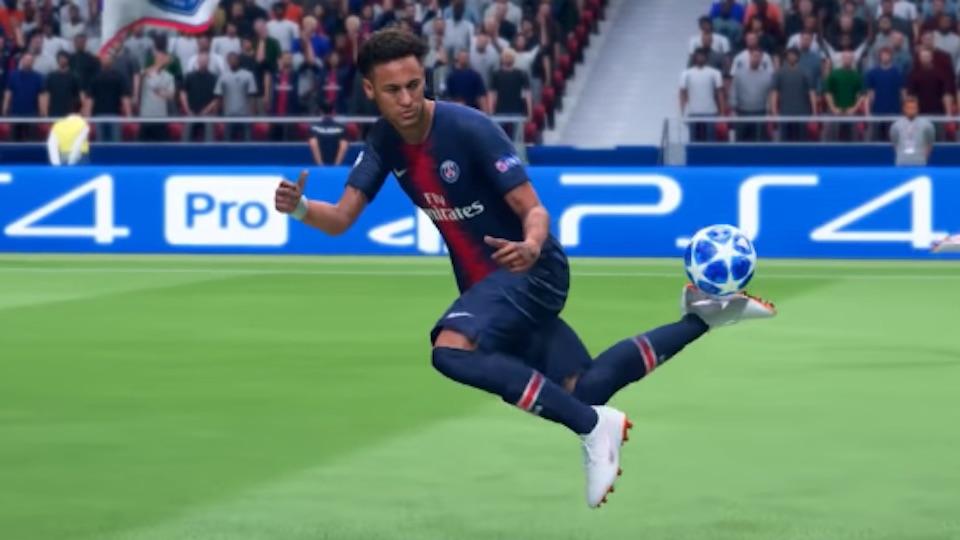 fifa 19 skills move neymar rainbow flick