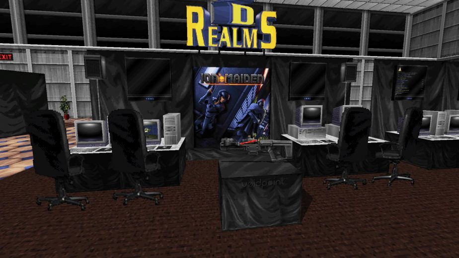 Ion Maiden Pax South Booth
