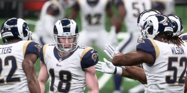 madden 19 nfl playoffs simulation rams saints patriots chiefs