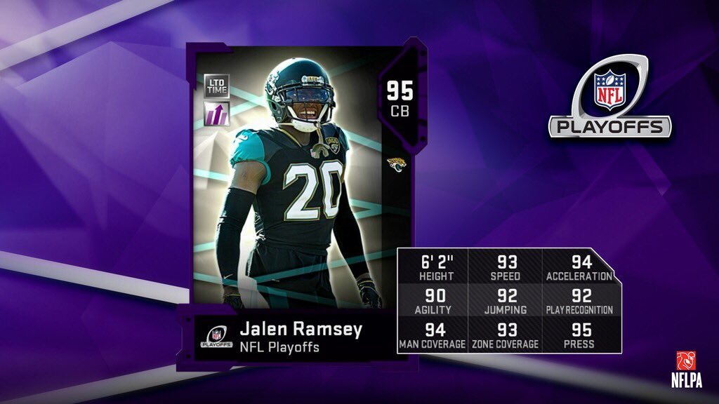 madden 19 ultimate team playoff performers jalen ramsey