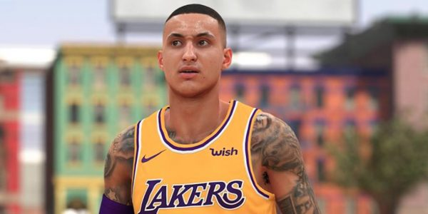 nba 2k19 neighborhood swag lakers kyle kuzma