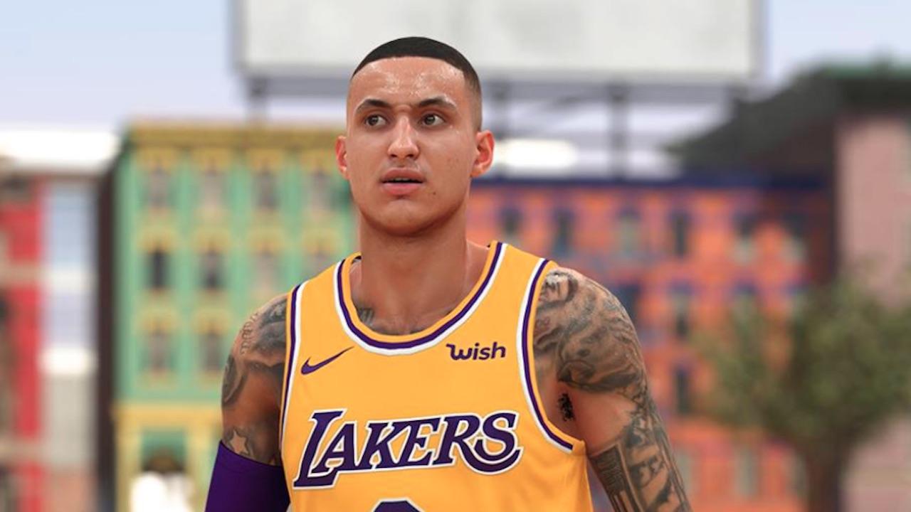 official photos 97bbe 9efed NBA 2K19 Neighborhood Swag Drops For Lakers' Kyle Kuzma ...